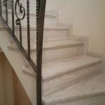 Escalera roble negro calízo Valencia 11