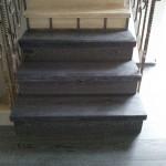 Escalera roble negro calízo Valencia 17