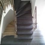 Escalera roble negro calízo Valencia 20