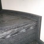 Escalera roble negro calízo Valencia 23
