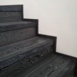 Escalera roble negro calízo Valencia 28