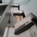 Escalera roble negro calízo Valencia 29