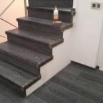 Escalera roble negro calízo Valencia 32