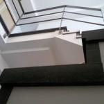 Escalera roble negro calízo Valencia 33