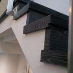 Escalera roble negro calízo Valencia 37
