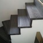 Escalera roble negro calízo Valencia 4