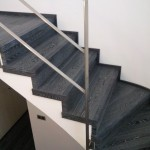 Escalera roble negro calízo Valencia 41