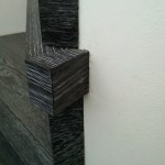 Escalera roble negro calízo Valencia 7