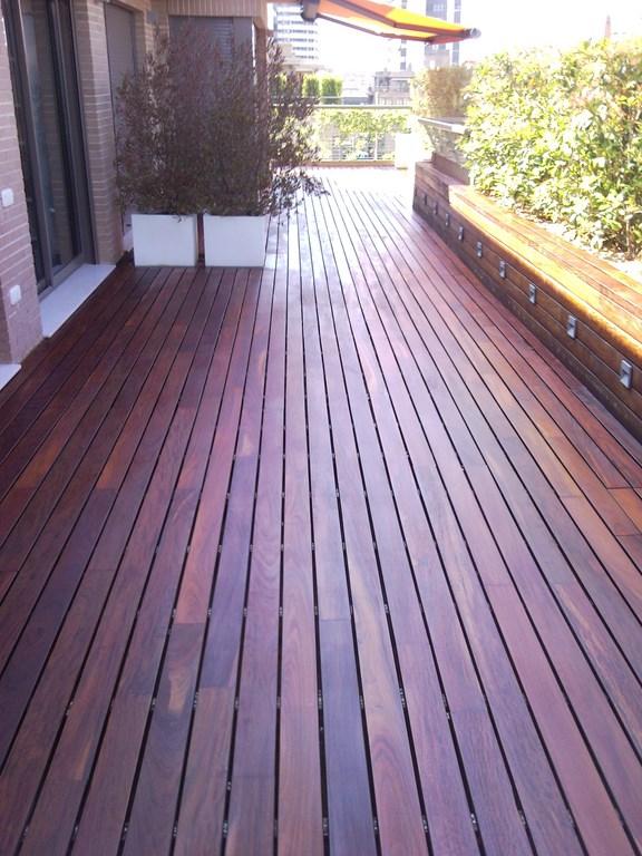 Suelo de madera exterior top suelo exterior tecnico sabes - Suelo madera exterior barato ...